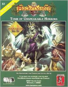 Hackmaster Adventure: Tomb of Unspeakable Horrors