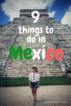 Planning a trip Mexico? You're not going to want to miss these top sites and things to do in Mexico! Click to start planning your itinerary! #mexico ******************************************** Mexico trip | Mexico travel tips | Mexico vacation outfits | Mexico vacation | Mexico travel destinations | Riviera Maya Mexico