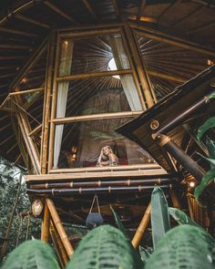 """Hideout Bali × Eco Bamboo Home on Instagram: """"🐝 HIVE. Though she bee but little, she bee fierce @hideoutbeehive 💛. __________ Photo and quote by @thefoxandvixen"""" Bali, Belle Photo, Bamboo, Photos, Windows, Treehouse, World, Quote, Instagram"""