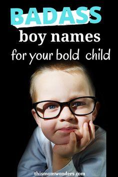 Boy Names Tough, Cowboy Names For Boys, Badass Boy Names, Greek Names For Boys, Male Baby Names, Boys Names Rare, Boy Middle Names, Strong Boys Names, Cool Boy Names