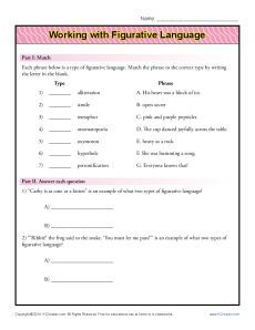 Orpheus the Lyrical: Figurative Language Review Game Free by ...