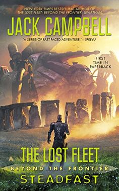 The Lost Fleet: Beyond the Frontier: Steadfast by Jack Campbell http://www.amazon.com/dp/0425260534/ref=cm_sw_r_pi_dp_VPtkvb01T238T