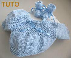 Tutoriel tricot laine bébé fait main