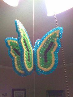 3D Butterfly perler beads by Brett M. - Perler® | Gallery