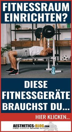 Set up a gym? You need these training devices . Bodybuilding, Gewichtsverlust Motivation, Fitness Goals, Fitness Hacks, Fitness Workouts, Workout Rooms, Calisthenics, Fitness Inspiration, Ayurveda