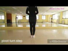 라인댄스기본스텝(cha cha, hully gully, mambo, pivot turn, charleston) - YouTube