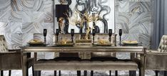 Inspired by this Decadent Dining look on @Z Gallerie  from Z Gallerie