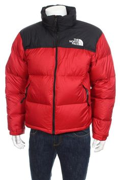 THE NORTH FACE Men s 1996 Retro Nuptse Down Jacket Red Size M d6b2b1a52