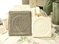 Clay Stamp Mandala Press Mold Relief Mold or Sprig by claystamps, $12.00