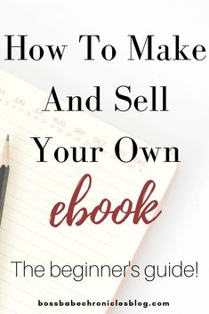 If you are thinking of writing an ebook, this guide is for you! Learn how to as a beginner write an ebook and sell it to make you passive income! Make Money Blogging, Make Money Online, How To Make Money, Blog Writing, Writing A Book, Make Blog, How To Start A Blog, Hustle Quotes, Career Inspiration