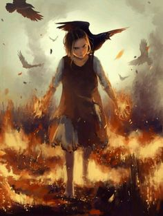 ...they killed her entire village so the little girl known as Crow discovered that deep within herself was a fiery power...