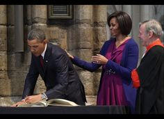 President Barack Obama & 1st Lady Michelle Obama