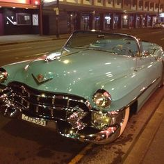 1953 Cadillac Convertible 1957 Ford Thunderbird Convertible Plus Over 970 Different Classic Cars  http://pinterest.com/njestates/cars/  Thanks to http://www.njestates.net/                                                                                                                                                                                 More #VintageCars