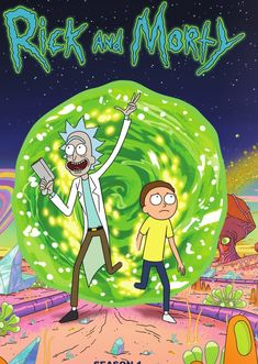 Rick and Morty poster, t-shirt, mouse pad Rick And Morty Image, Rick Und Morty, Rick And Morty Poster, Rick And Morty Season, Cartoon Wallpaper, Trippy Wallpaper, Pintura Hippie, Ricky Y Morty, Vintage Cartoon