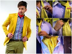 #Style tip of the day  An Ascot gives #royallook to the personality. This super #stylish accessory is perfectly timeless and irresistibly cool.   get this look at www.callino.net #ascot #fashionformen #stylishblazers