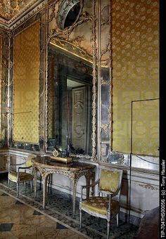 Interior of Palace of Caserta | Italy, Campania, Caserta, internal view of the Royal Palace