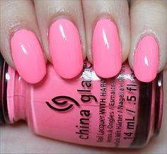 China Glaze Neon & On & On (From the Sunsational Collection. Click through for an in-depth review and more swatches!)