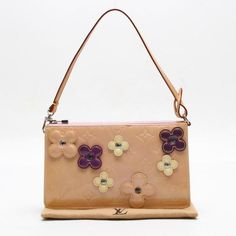 Louis Vuitton Flower Lexington  Monogram Vernis Handle bags Pink Patent Leather…