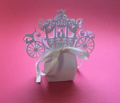Bomboniera portaconfetti carrozza, wedding ideas