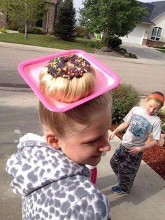 Le crazy hair day : le jour où les enfants portent des coiffures hallucinantes !