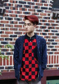 Do kyungsoo growl teaser outfit