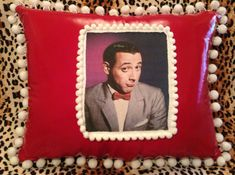 Kitsch Pee Wee Herman Throw Pillow by KutiePieKitsch on Etsy, $25.00