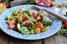 Detox Fruit and Vegetable Salad - 5:2 Diet               Saladas - 03 - Salada DETOX frutas e vegetais.