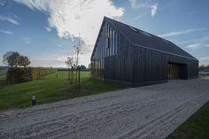 Project gevelbekleding - Zwarthout te Vortum-Mullem