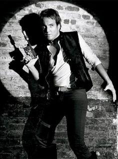Will Arnett as Han Solo for a Vanity Fair photo shoot.