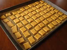 By Kath Dedon a Cheese crackers! Who doesn't love them? I had some Tillamook Extra Sharp Cheddar and decided I'd try to make my own. I adapted Smitten Kitchen's recipe for Cheese Straws (which Deb …