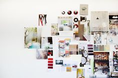 A Dream Home inspiration board in the making.