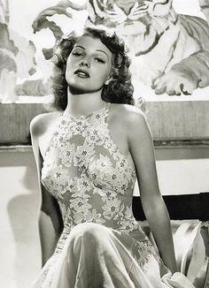 1930/'s Movie Star Rita Hayworth Pocket Mirror