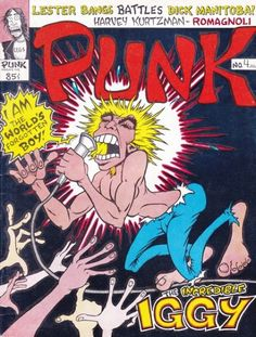 """The original """"zine?"""" Not really, but Punk Magazine managed to cover music and art and still be tongue in cheek, having the tone set by John Holmstrom's illustrations on the cover."""