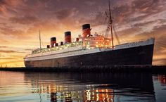 Most Haunted Hotels In America - Queen Mary Hotel, Long Beach, CA
