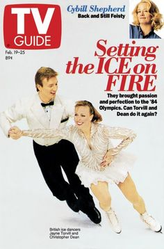 Setting the Ice on Fire Cybill Shepherd Great Tv Shows, Old Tv Shows, Movies And Tv Shows, Jayne Torvill, 1990s Nostalgia, Cybill Shepherd, Vintage Television, Vintage Tv, Tv Guide