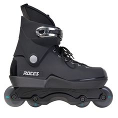 This Skate Consists of Roces UFS Black (Boot only) Oysi Frame Black Go Project Go Project Classic Bearings Roller Skating Pictures, Aggressive Skates, Roller Blading, Quad Skates, Lets Roll, Inline Skating, Bmx Bikes, Blade Runner, Black Boots
