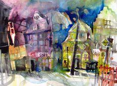 Stadtansichten - Elke Memmler