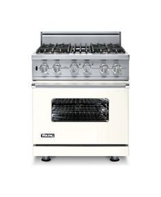 Custom 30 Inch Sealed Burner Self-Cleaning Gas Range - Viking Range Corporation