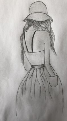drawing sketches pencil drawings easy simple sketch girly cool uploaded value