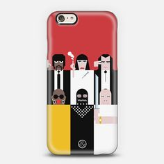 Cool smart phone cases by Simply People: Pulp Fiction! Yes!