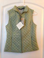 Women's Eddie Bauer Quilted Vest Sage Green XS