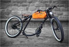 OTO CYCLES Oto Cycles réalise des vélos de style vintage équipés d'un moteur électrique.