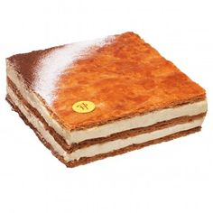 This Millefeuille spotlights the pure taste of real vanilla, underscored by the caramelized puff pastry and textural variations yielding different sensations. Napoleon Cake, Cupcakes, Saveur, Macarons, Tiramisu, Caramel, Bakery, Sugar, Ethnic Recipes