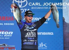 Carl Jocumsen, all the way from Australia, is a current Amphibia Pro Staff Member and a Bassmaster Elite Angler