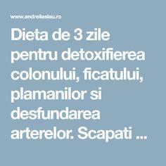 3 zile detoxifiere