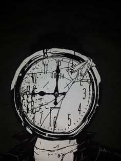 Queens of the stone age - like clockwork shirt design