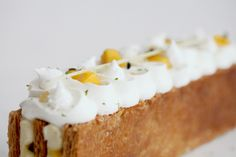 Passionfruit, Coconut and Ginger Mille Feuille   Natalie Eng   Pâtisserie & Food Photography