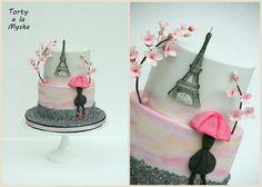 pring in Paris cake
