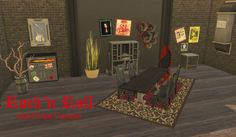 Leander Belgraves - Rock'n Roll Set DOWNLOAD a Sims 3 to Sims 4...