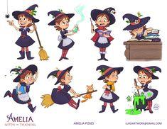 Amelia - Witch in Training by LuigiL